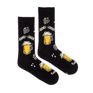 Veselé ponožky Chmelová brigáda