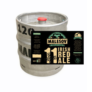 Irish Red Ale 11° (15, 30, 50 keg)
